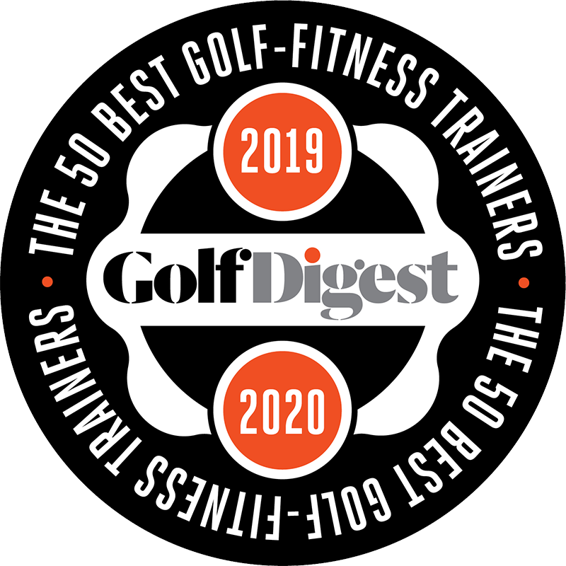 Golfletica Trainer Rated in Top 50 in USA for Golf Fitness by Golf Digest Magazine